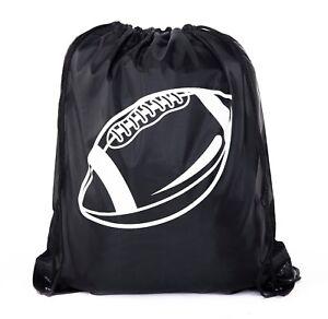 Football Party Bags | Football Drawstring Cinch Backpacks