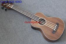 """30"""" Concert Ukulele Bass Mini Acoustic Uke Handcraft Solid Acacia Wood"""