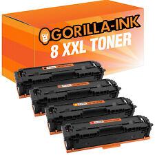 8 Toner XXL für HP Color LaserJet Pro MFP M 280 NW M 281 FDN M 281 FDW 203 A