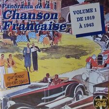 Panorama de la chanson Francaise Volume 1 de 1919 à 1943 CD 1993  EXCELLENT MINT