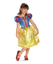 Snow White Sparkle Dress-Up Outfit Disney Princess Girls Small (4-6X) Halloween