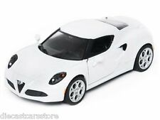 MOTORMAX ALFA ROMEO 4C WHITE 1/24 Diecast Car NEW IN BOX 79320WH