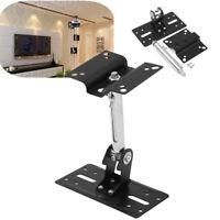 360°  Universal Surround Speaker Bracket Holder Ceiling Wall Mount KTV For 15kg