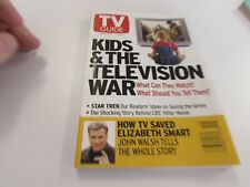 TV GUIDE- APRIL 12TH 20013 - KIDS & THE TELEVISION WAR - COVER