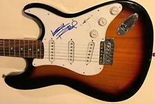 The Rolling Stones Signed Guitar Keith Richards Autographed Stratocaster Proof