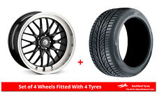 "Alloy Wheels & Tyres 18"" Cades Tyrus For Seat Arona 18-18"