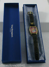 Tokyo Disney Disneyland 20th Year Anniversary Opening Day Wrist Watch LE 2000