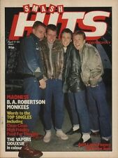 Madness on Smash Hits Magazine Cover 1980   The Vapors   The Monkees   Siouxsie