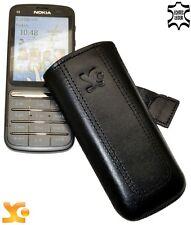 Nokia C3-01 Etui Tasche Case Handytasche Ledertasche *