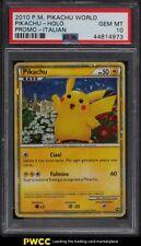 2010 Pokemon World Promo Italian Holo Pikachu PSA 10 GEM MINT