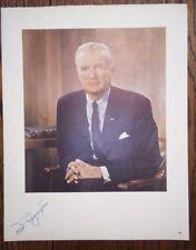 """Missouri Senator, Air Force Secretary STUART SYMINGTON Signed 11"""" X 14"""" Photo"""