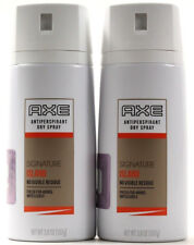 2 Axe Antiperspirant Dry Spray Signature Island No Visible Residue 48Hr Fresh