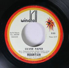 Rock 45 Mountain - Silver Paper / Travelin' In The Dark (For E.M.P.) On Windfall