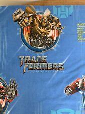 Transformers Flat Sheet Twin 2009