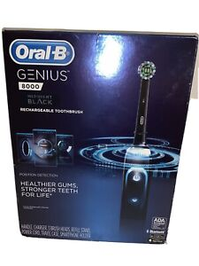 Oral-B Genius 8000 Midnight Black Edition Rechargeable Toothbrush NIB