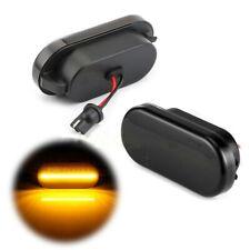 2x Dynamic LED Side Marker light For VW Passat Golf MK3 MK4 Polo T5 Bora Sharan