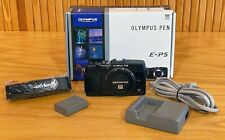 NIB Olympus PEN E-P5 16.1 MP Digital Camera - black. New in Box