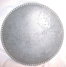 "Antique Regina 15 1/2"" Music Box Disc Record #1225 , "" Push Them Clouds Away """