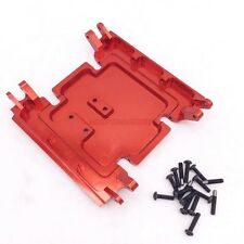 Axial Wraith Rc Rock Truck CNC Aluminum Center Skid Plate Set RED