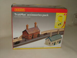HORNBY  OO GAUGE ACCESSORIES TRACKMAT PACK 2  COUNTRY STATION R8083 NEW