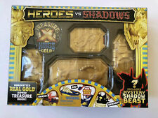 Treasure X Heroes vs Shadows w/  Real Gold Dipped Treasure NEW SEALED