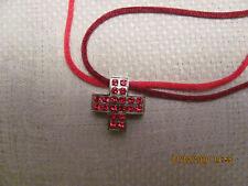 Wunderschöner rhodinierter Kreuz-Anhänger