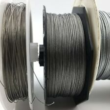 50M Fishing steel wire sea Fishing lines 7 strands Cover plastic Waterproof