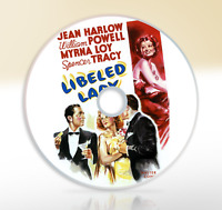 Libeled Lady (1936) DVD Classic Comedy Movie / Film Jean Harlow William Powell