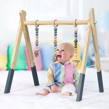 Babyspielgerät Baby Gym Spieltrapez Spielbogen Holzspielzeug 3 Kinderspielzeugen