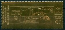 CANADA $20 OLYMPIC COMMEMORATIVE  STADIUM  23K SPECIAL  GOLD FOIL STAMP MINT NH