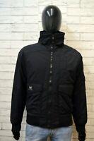 Giubbotto Uomo HELLY HANSEN XL Giubbino Cappotto Piumino Nero Giacca Jacket Man