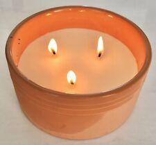 Large Fresh Sea Salt Scented Candle Parffin Wax CITRUS EUCALPTUS MUSK AromaScent