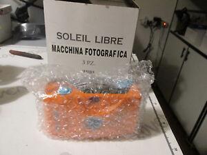 Macchina fotografica Analogica SOLEIL LIBRE  Pubblicitaria anni 80/90 NUOVA
