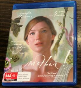 like new MOTHER! blu-ray movie 2017 jennifer lawrence BONUS SPECIAL FEATURES dvd