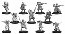 Warmachine Cygnar Trencher Long Gunners & Command PIP31133 Used - Out of Box