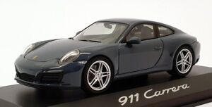 Porsche 911 991-2 Carrera 4 Coupe 2016 Yellow HERPA 1:43 HP71086 Modellbau