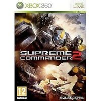Xbox 360 Game Supreme Commander 2 New & Welded