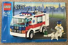 Lego City set 7890 Ambulance, complete set with instructions (no box)