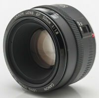 Canon Lens EF 50mm 50 mm 1.8 1:1.8 für EOS Metallbajonett