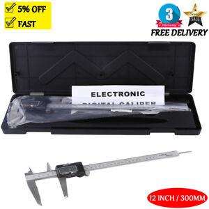 CE LCD 6/8/12'' inch Digital Vernier Caliper Micrometer Electronic Measure Gauge