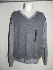 Tricots ST Raphael Sweater Moon Heather Mens XXL Style SR8504 Gray NWT $65