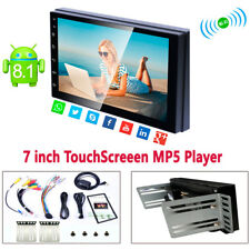 Touchscreen 7 inch Android 8.1 2DIN Car Stereo Radio Head GPS Wifi AM/FM Player