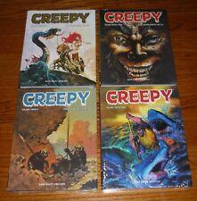 Creepy Archives Volumes 20,21,22,23, SEALED, Warren, Dark Horse hardcovers