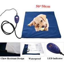 Large Pet Heat Pad Puppy Cat Dog Bed Whelping Box Heat Mat w Temperature Control