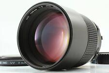 【TOP MINT】 Minolta New MD 135mm F/2 Telephoto Manual Focus Lens From JAPAN #1216