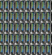 50 Pcs Panasonic CR123A 123A 3V Photo Lithium Batteries Exp 2024