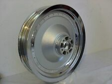 HARLEY CHROME SOLID WHEEL REAR RIM SOFTAIL FAT BOY XL SPORTSTER DYNA