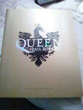 Queen + Paul Rodgers tour book 2006