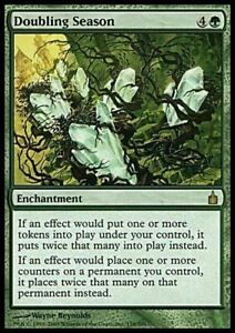 Doubling Season ~ Ravnica: City of Guilds [ MODERATELY PLAYED ] [ Magic MTG ]