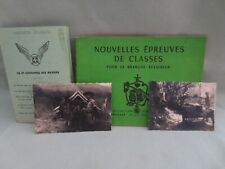 Ancien fascicule sur le Scout de France + 2 photos + carte des Raiders